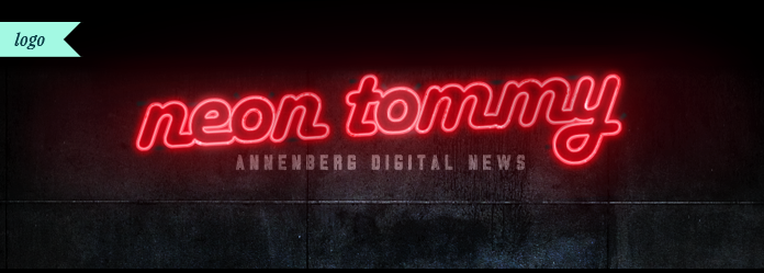 Image of a Neon Tommy Logo