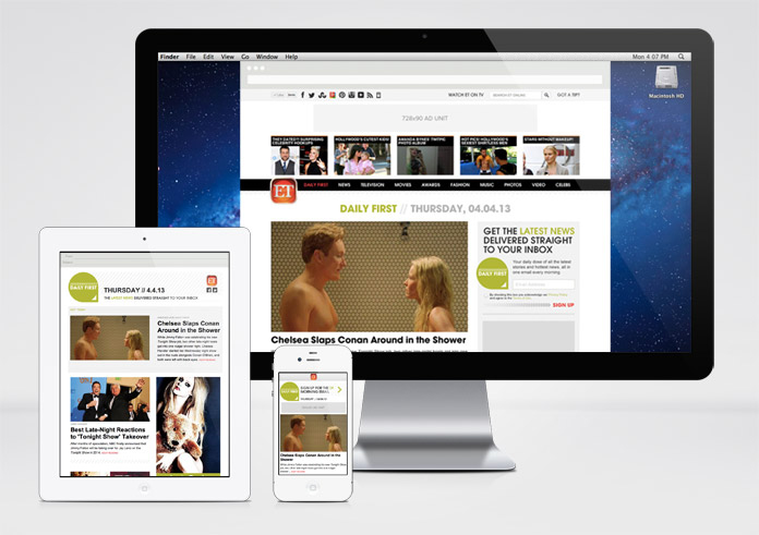 Image of Daily First on multiple devices